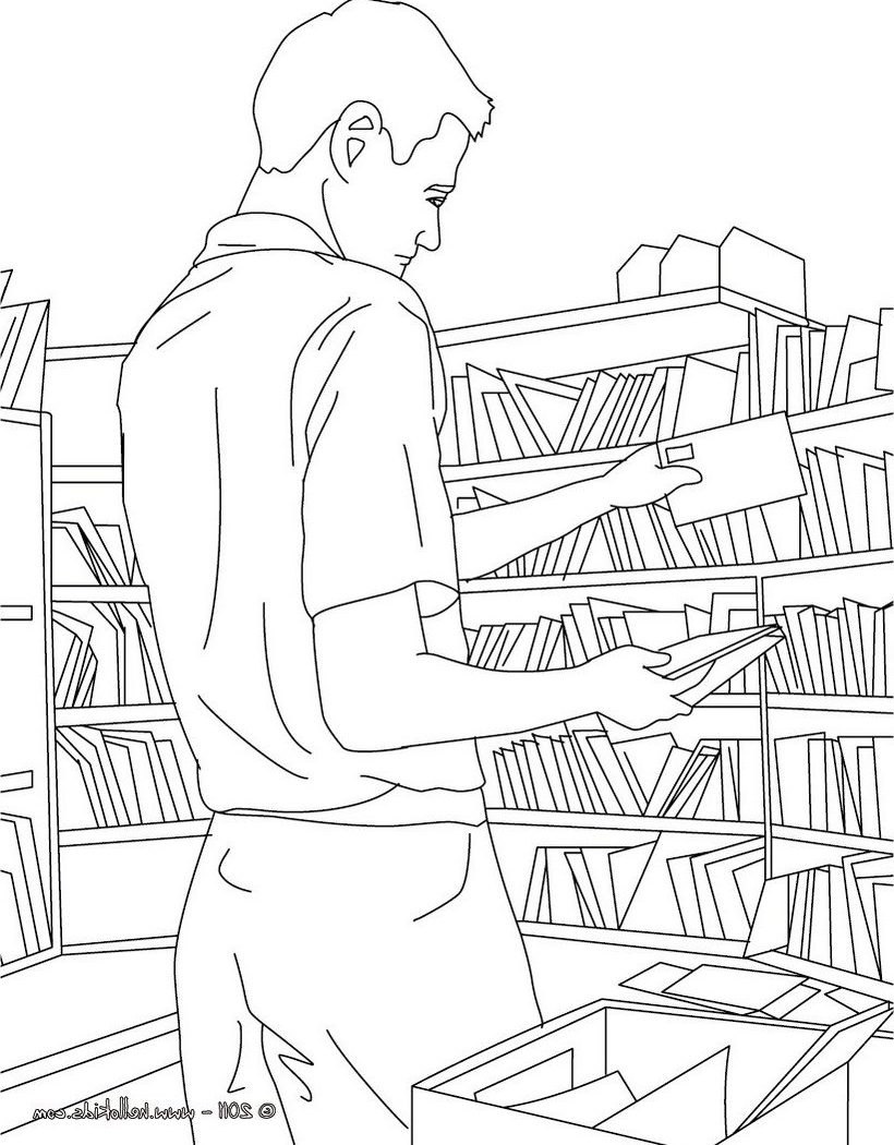 820x1050 Post Office Coloring Pages For Kids Amazing Building Colouring