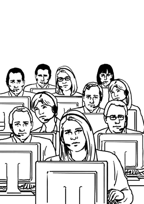600x847 Business Office Coloring Pages Best Place To Color