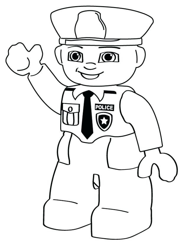 640x828 Officer Buckle And Gloria Coloring Pages Community Helper Coloring