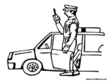 440x330 Officer Buckle Colouring Pages, Officer Buckle And Gloria Coloring