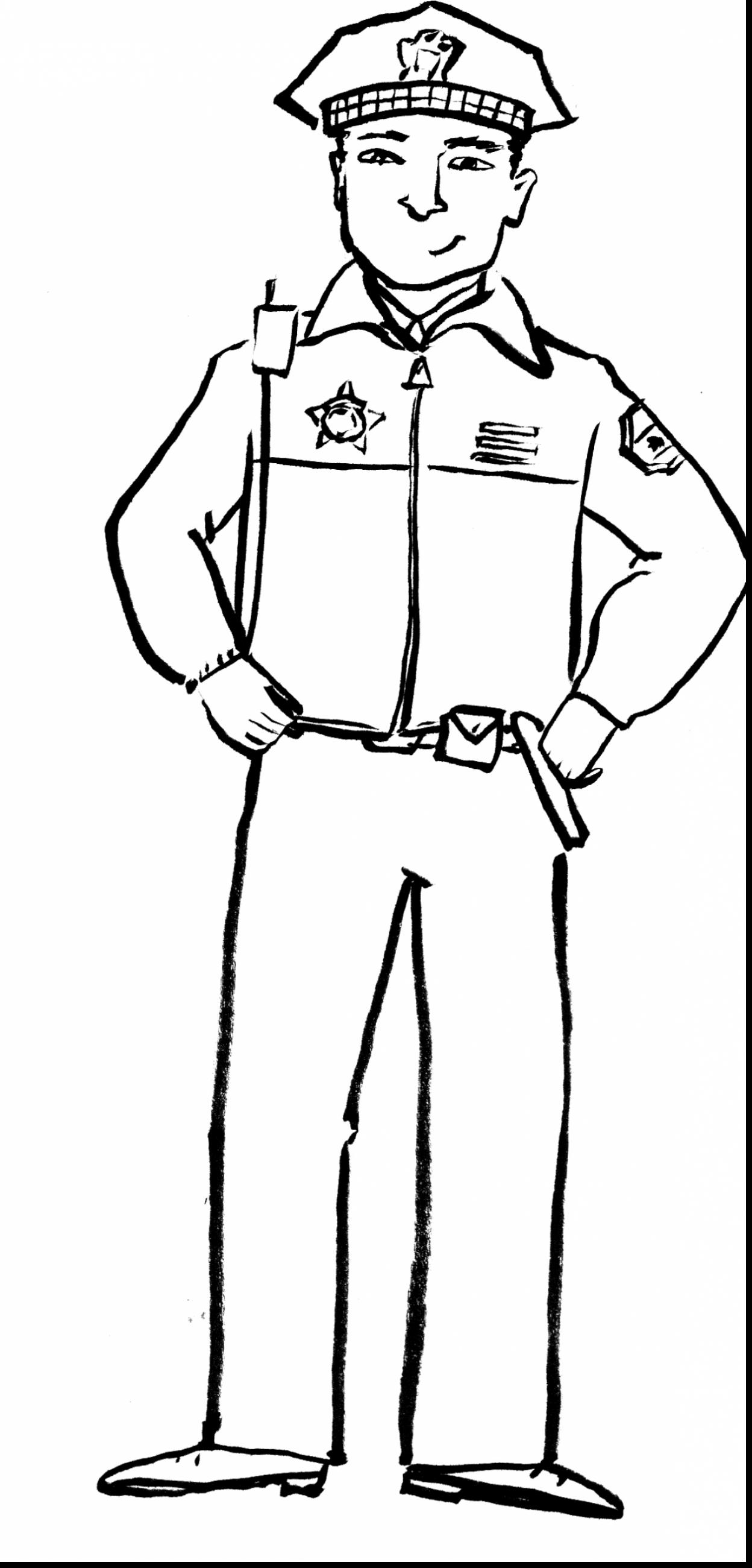 1248x2600 Inspiring Thank You Police Officer Coloring Page Badge