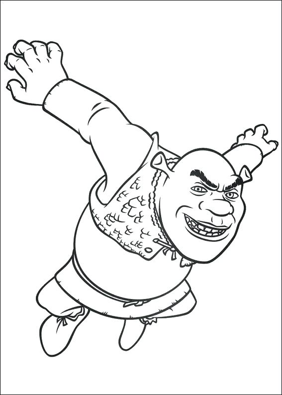 567x794 Shrek Coloring Games Ogre Baby Coloring Pages Shrek Coloring Pages