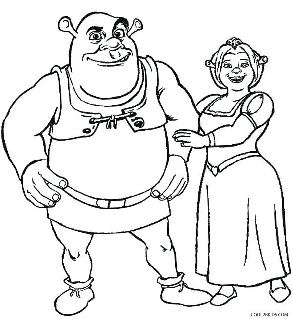 590x644 Shrek Coloring Pages And Coloring Pages Shrek Coloring Pages