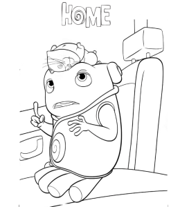 260x300 Home Movie Characters Coloring Pages Playing Learning