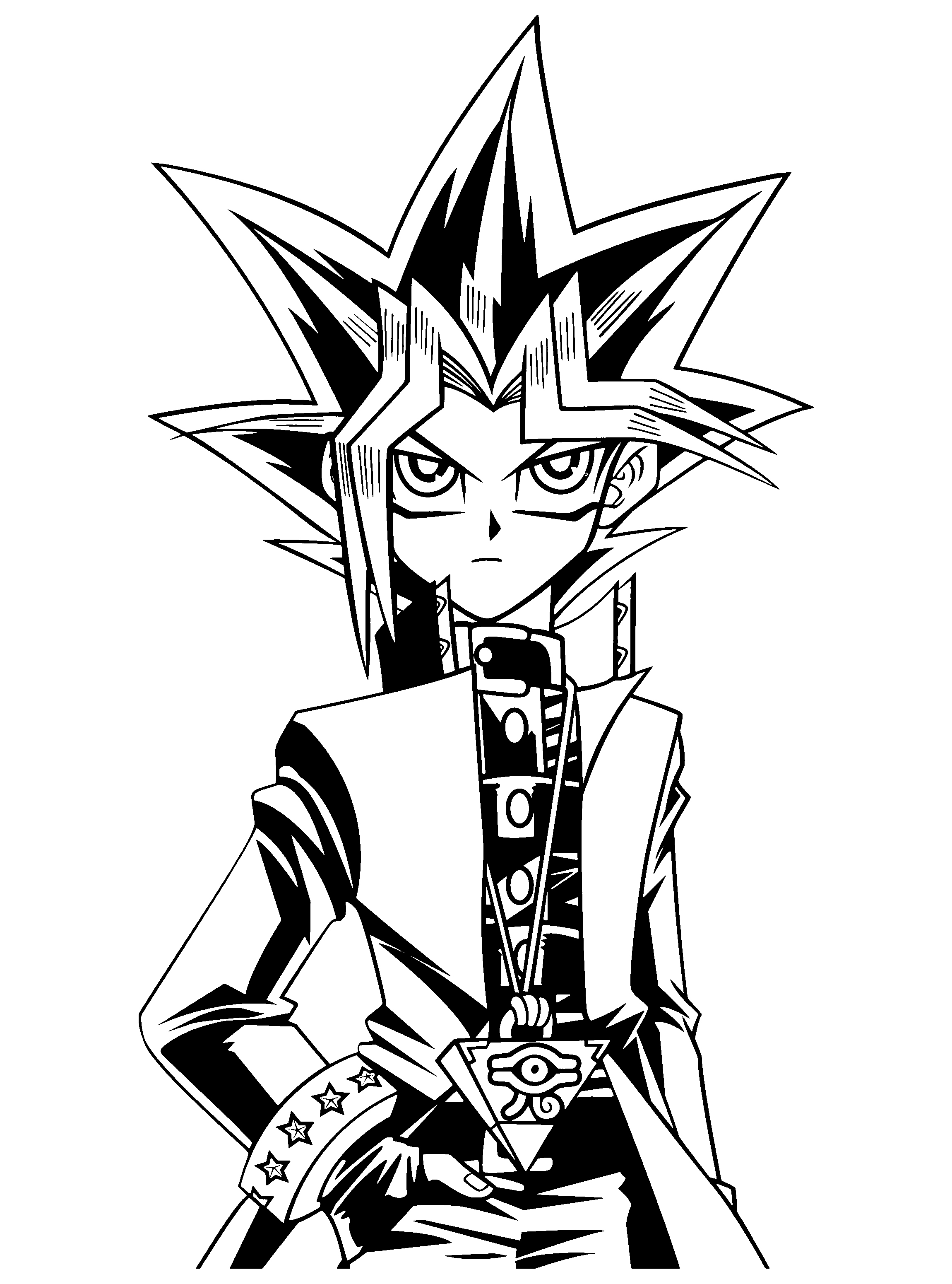 2300x3100 Yugioh Coloring Pages Inspirational Yugioh Book Coloring Home