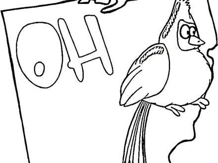 Ohio Coloring Pages