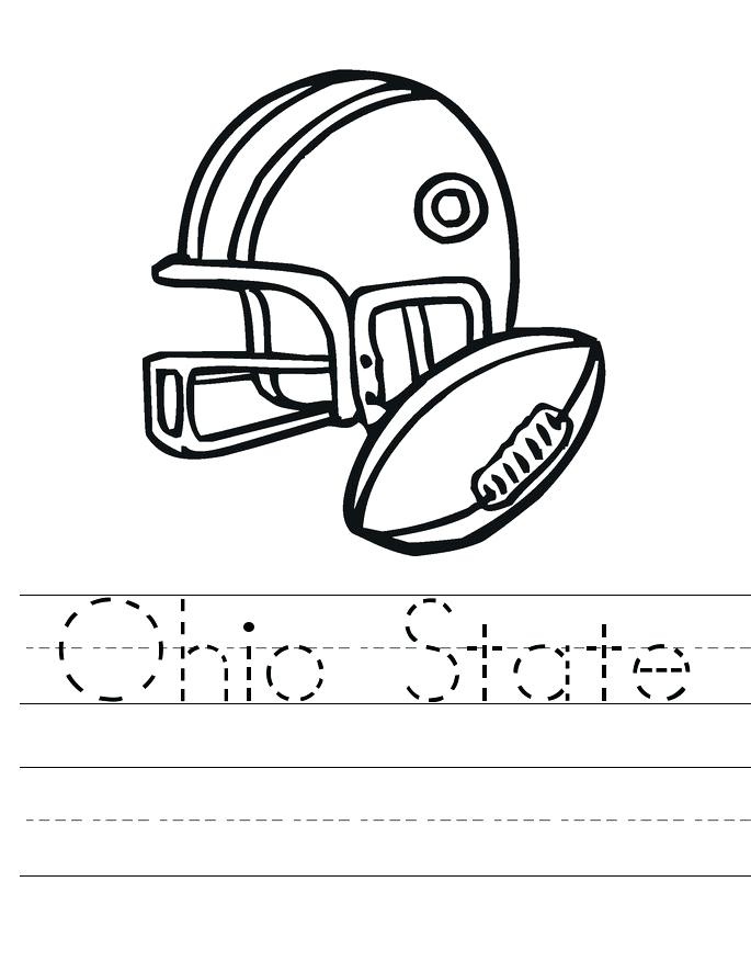 685x886 Ohio State Coloring Pages State Ohio State Brutus Coloring Pages