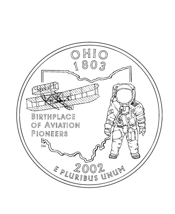670x820 Ohio State Coloring Pages State Symbols Coloring Pages Ohio State