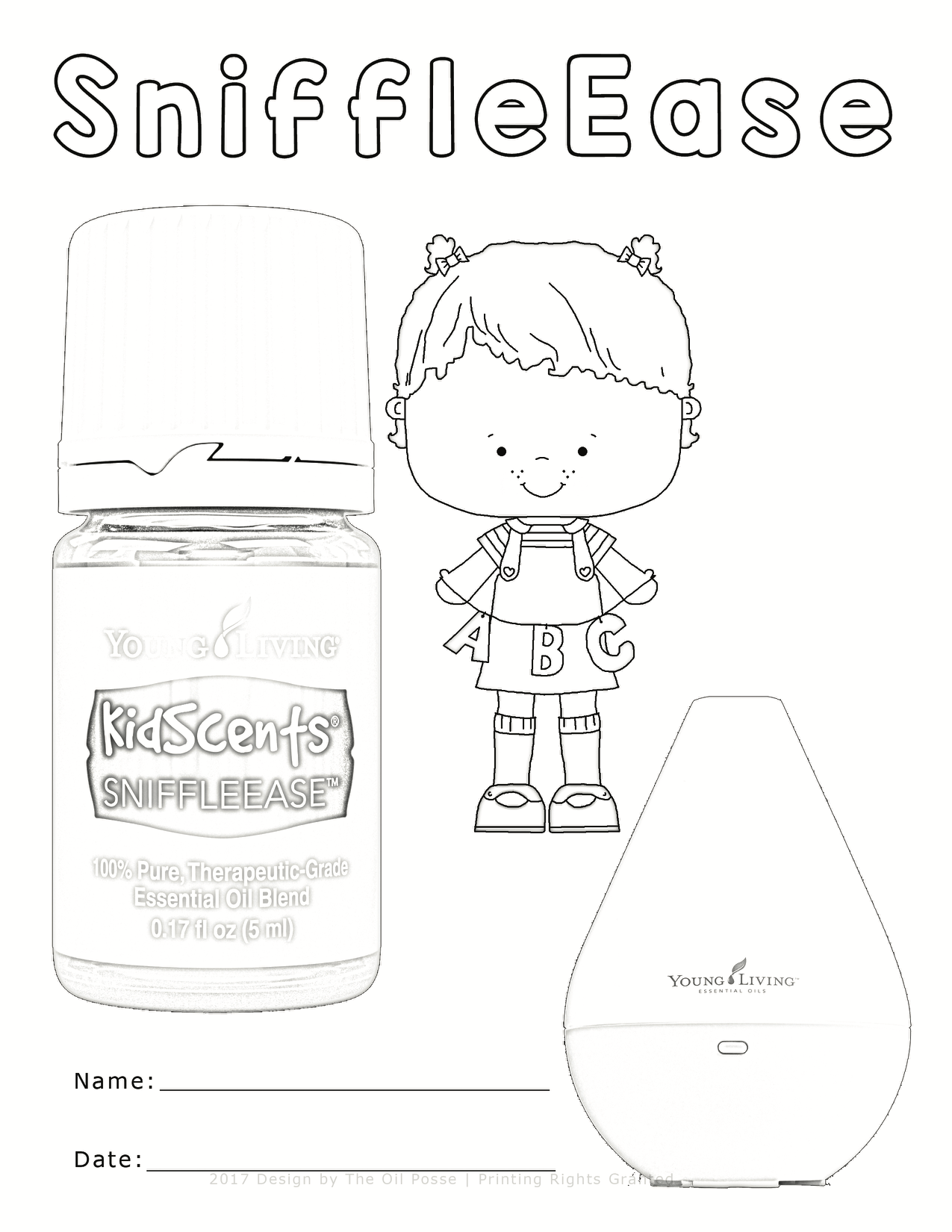 1275x1650 Five Kidscents Coloring Pages The Oil Posse