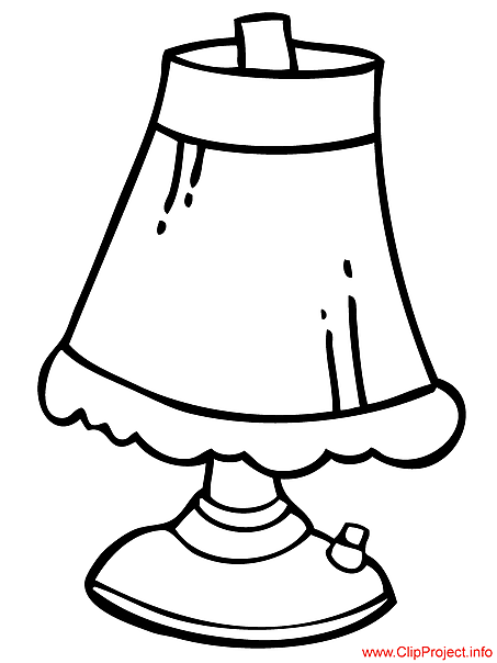 453x604 Oil Lamp Coloring Page