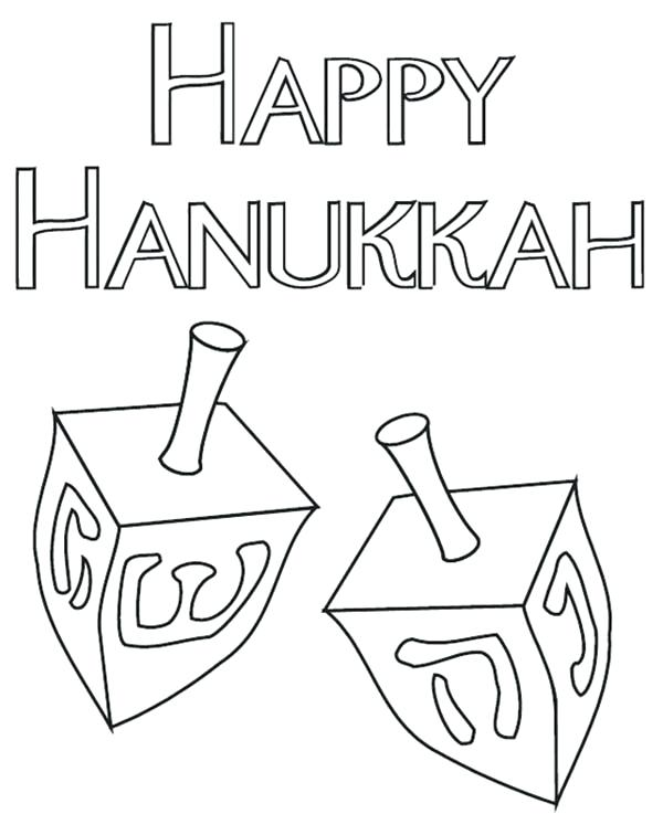 600x737 Dreidel Coloring Pages Page Oil Lamp Colouring Intended