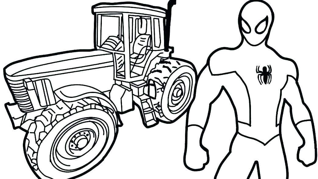 1043x587 Truck With Trailer Coloring Pages Deepart