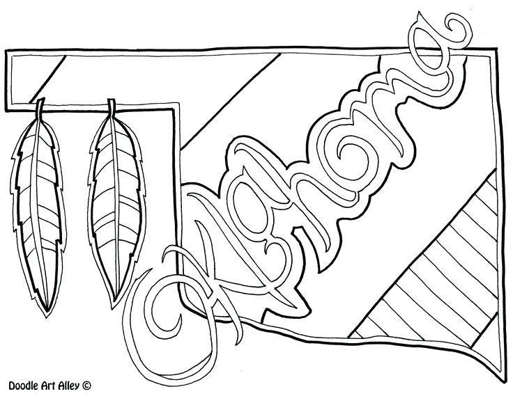 Oklahoma City Thunder Coloring Page at GetDrawings.com | Free for ...