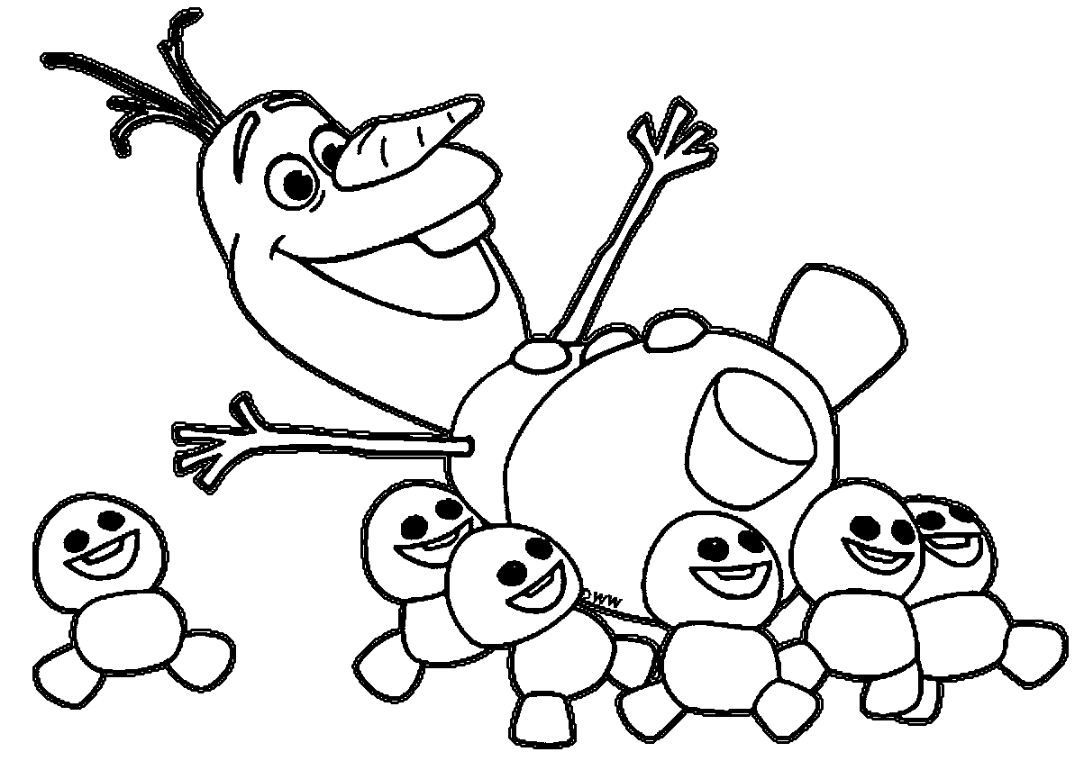 1203x845 New Olaf Frozen Adventure Coloring Pages Collection Printable