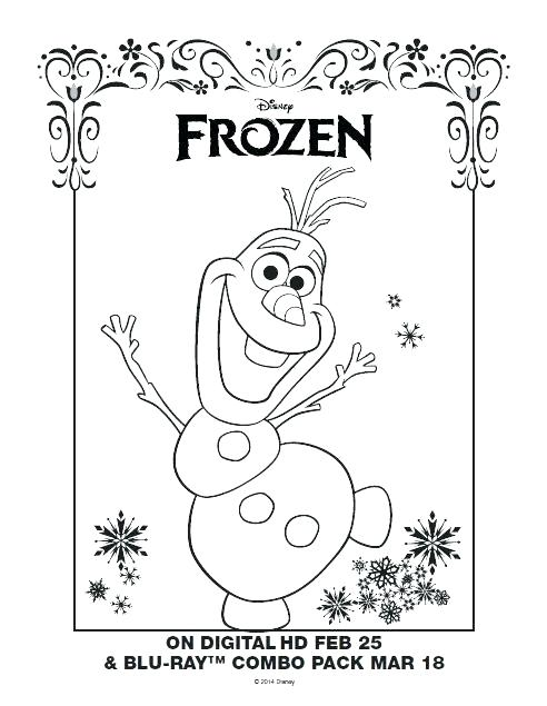492x635 Olaf Coloring Page Printable Coloring Pages Coloring Pages