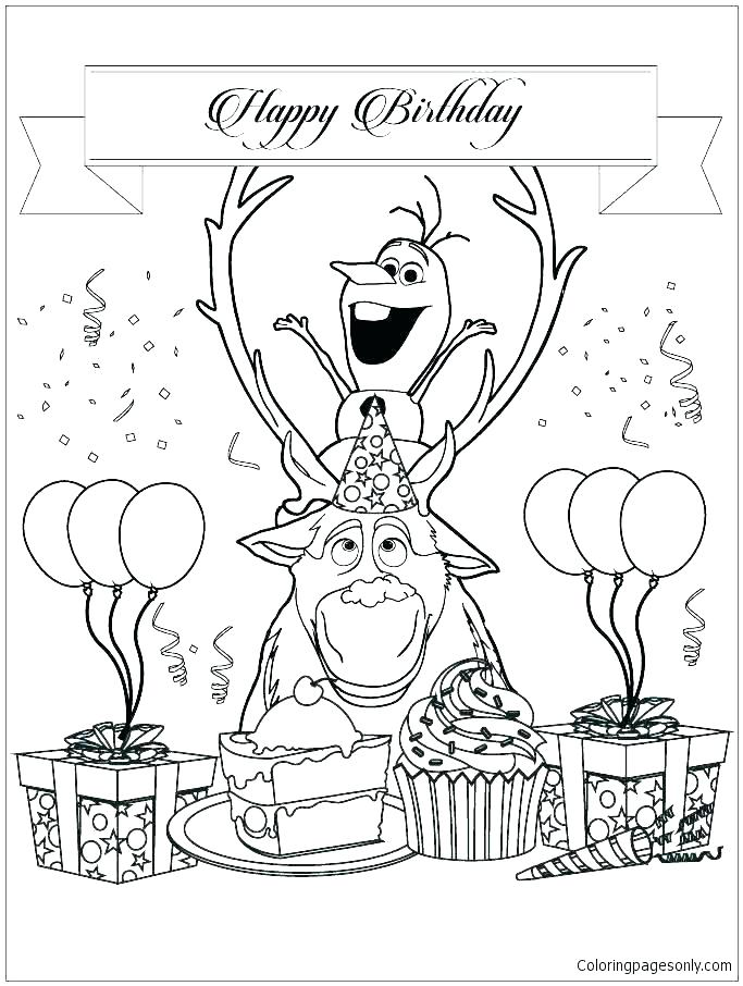 683x906 Coloring Pictures Of Olaf Colouring Pages To Print Coloring Pages