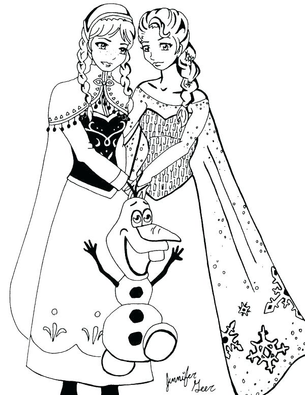 600x777 Elsa Coloring Pages Pdf New Frozen Printable Coloring Pages
