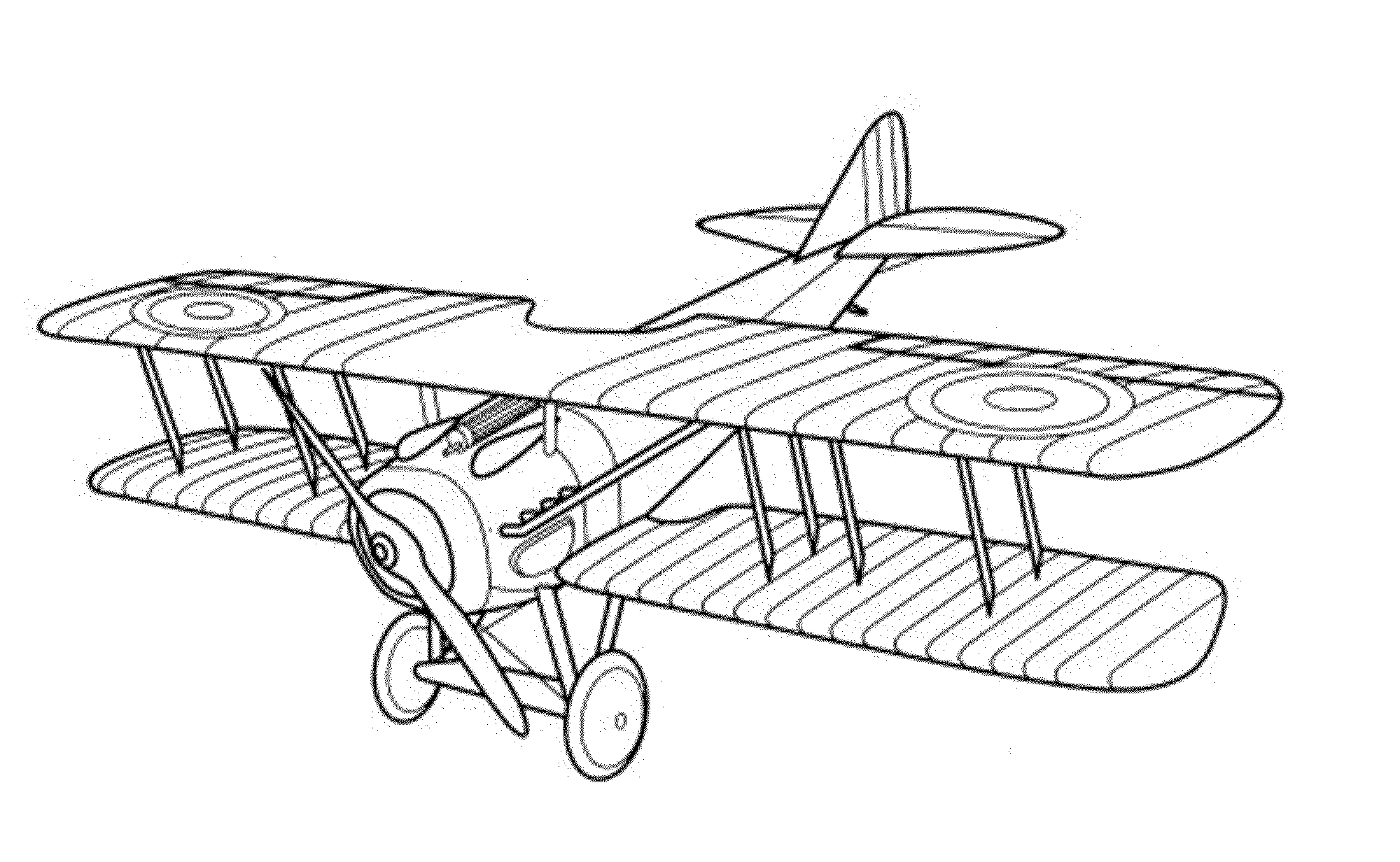 Old Airplane Coloring Pages at GetDrawings.com | Free for ...