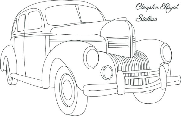 600x385 Muscle Cars Coloring Pages Car Printable Coloring Pages Free