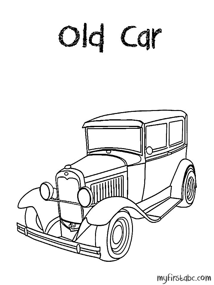 718x958 Old Car
