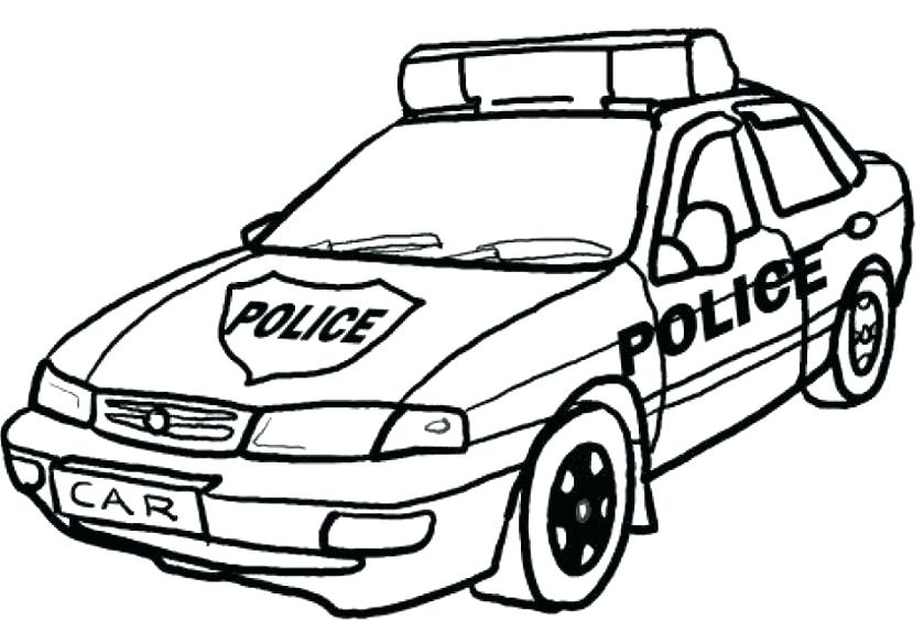 839x564 Car Coloring Pages To Print Coloring Pages To Print Police Car