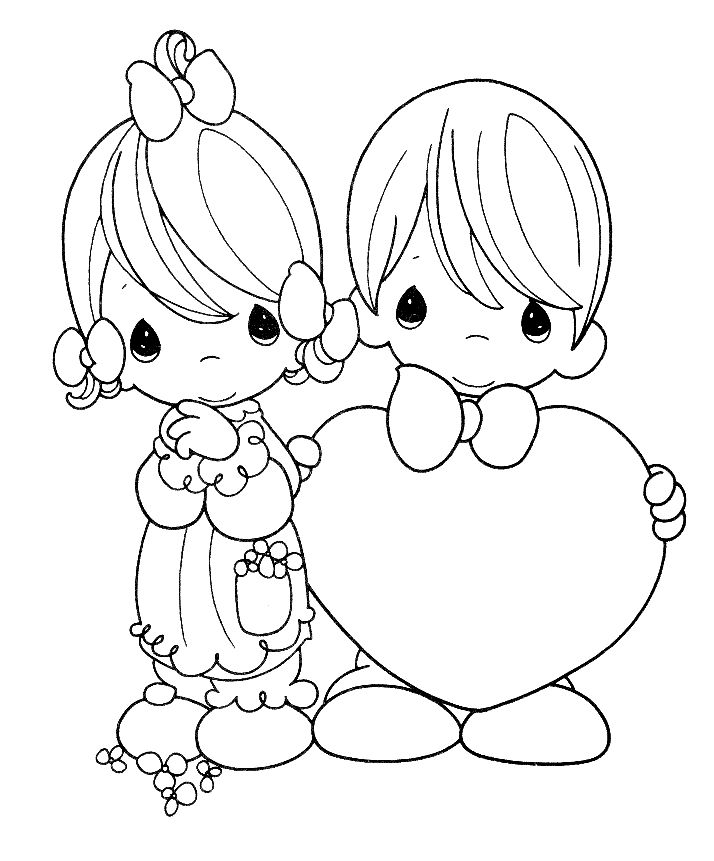 714x861 Couple Coloring Pages To Download And Print For Free