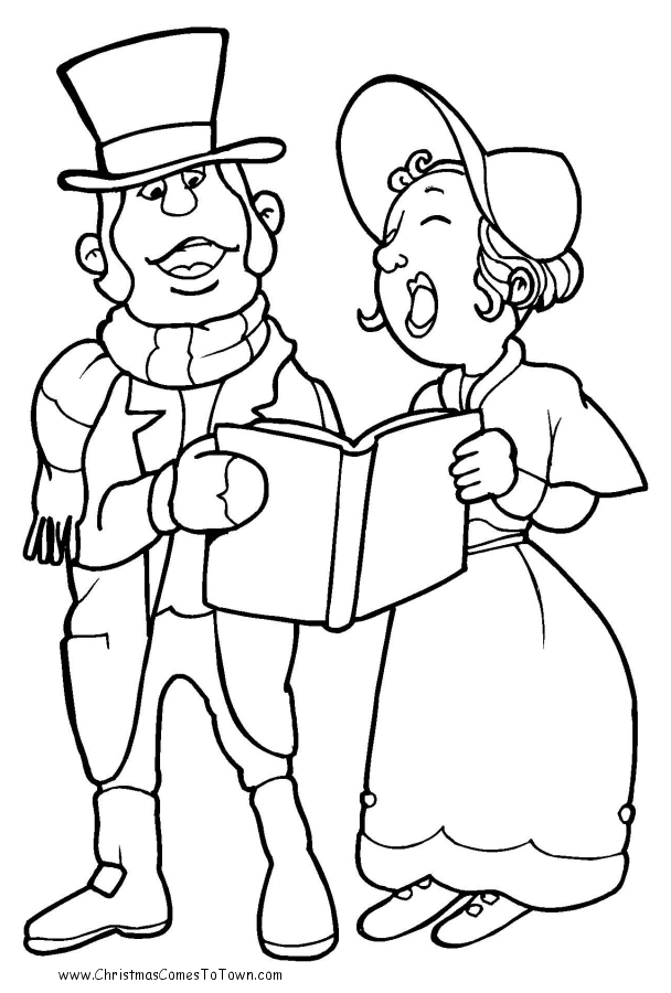 608x900 People Coloring Pages
