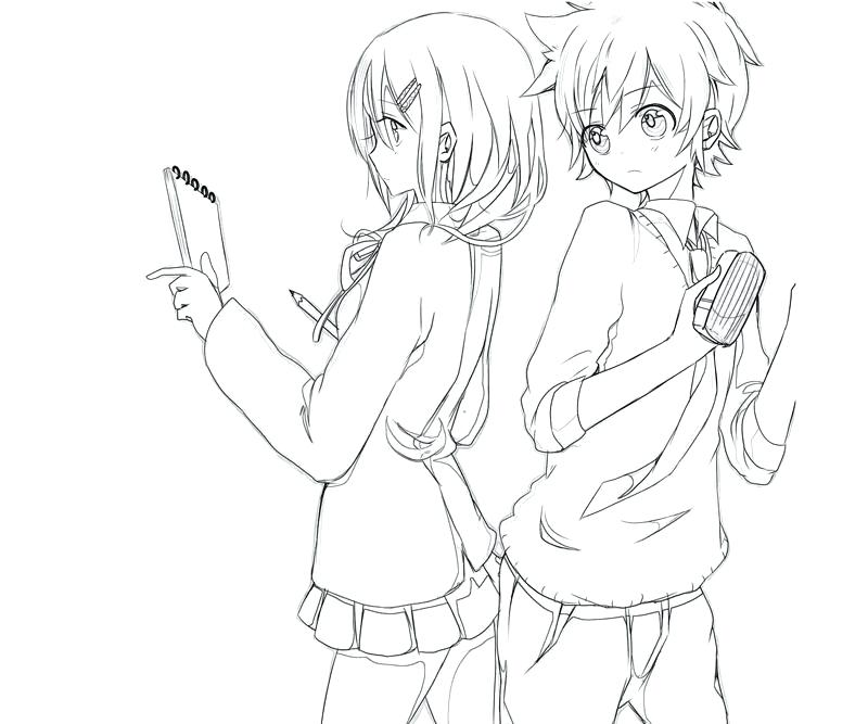 800x667 Anime Coloring Pages Anime Coloring Pages Online Anime Coloring