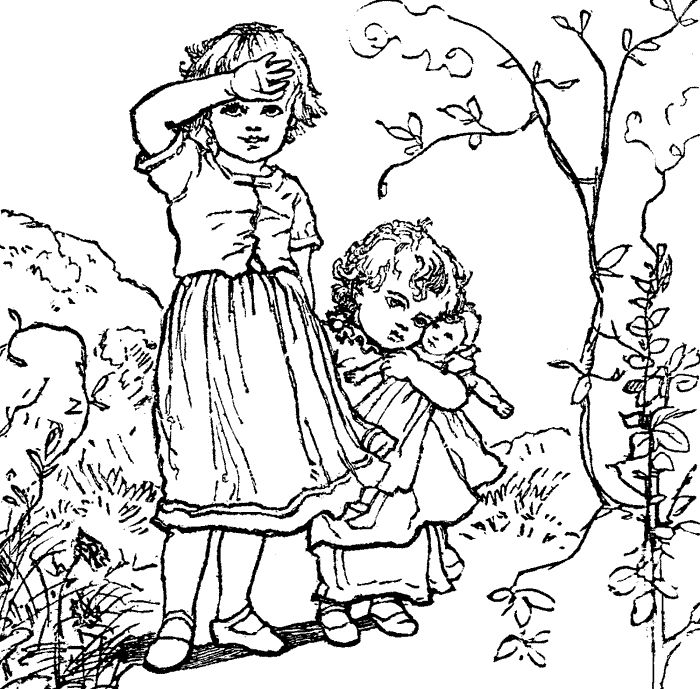 Old Fashion Coloring Pages