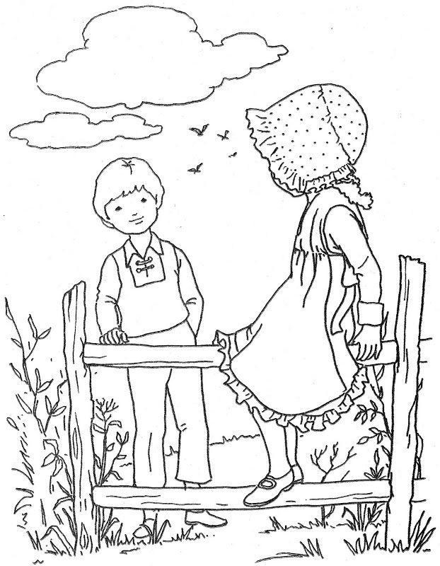 622x800 Old Fashioned Coloring Page Old Fashioned, Sweet, Vintage
