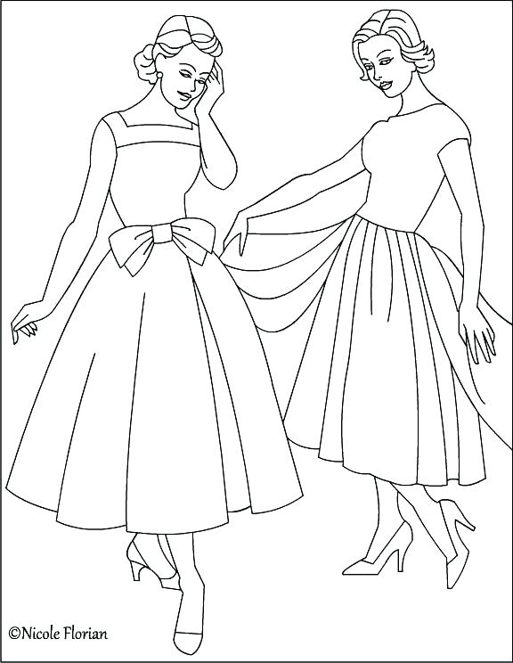576x744 Old Fashioned Coloring Pages Books Also The Valentine Plus Vintage