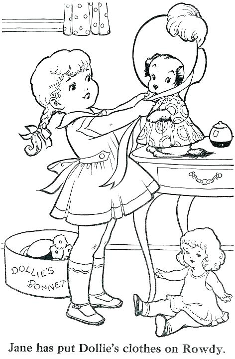 472x720 Chic Design Old Fashioned Coloring Pages Vintage For Sumptuous