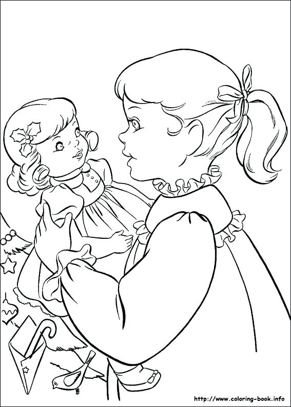 567x794 Coloring Pages Of American Girl Dolls Girl Coloring Pages Girl