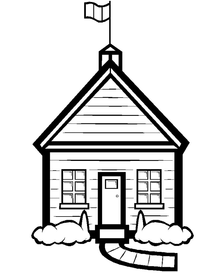 750x933 Houses Coloring Pages Printable Family, People And Jobs Coloring
