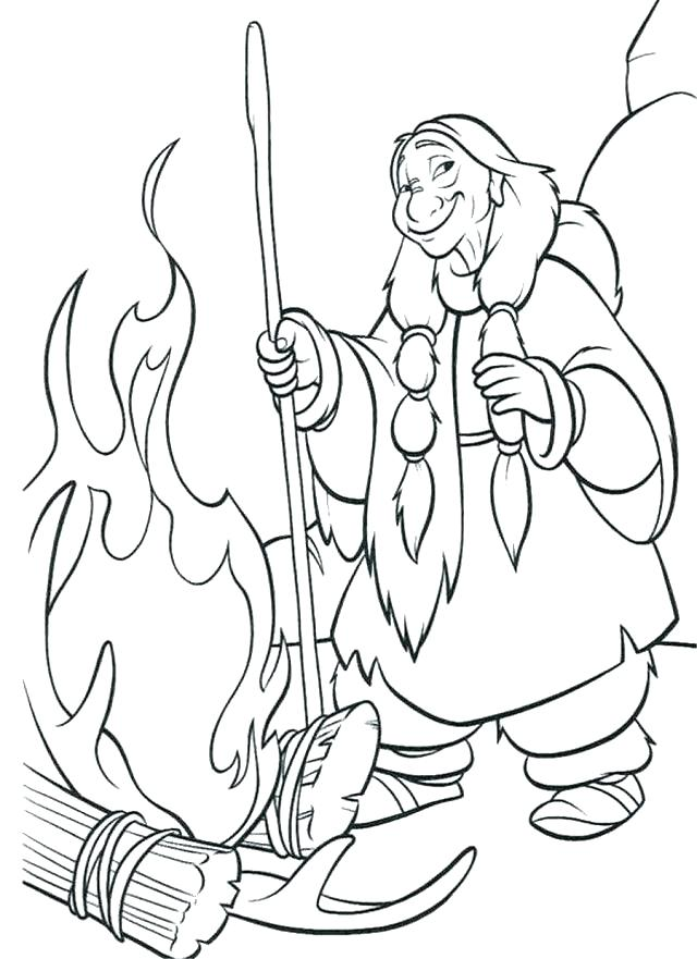 640x881 Our Lady Of Coloring Page Free Coloring I Know An Old Lady