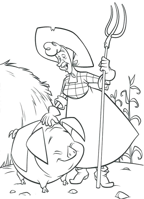 600x827 There Was An Old Lady Coloring Page Home On The Prairie Old Lady