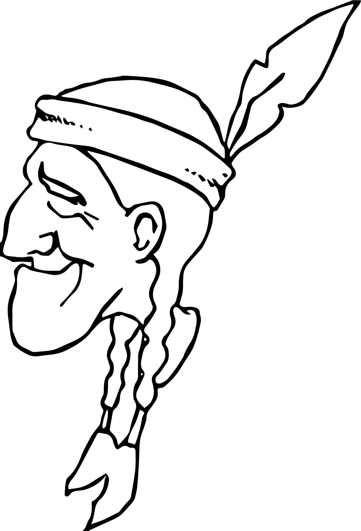 1266x1859 American Indian Old Man Coloring Page American Indians