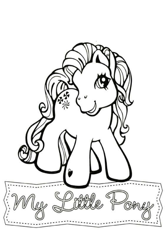 567x850 My Little Pony Coloring Pages To Print And Color In For Free