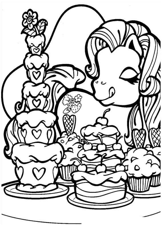 567x794 My Little Pony Coloring Pages