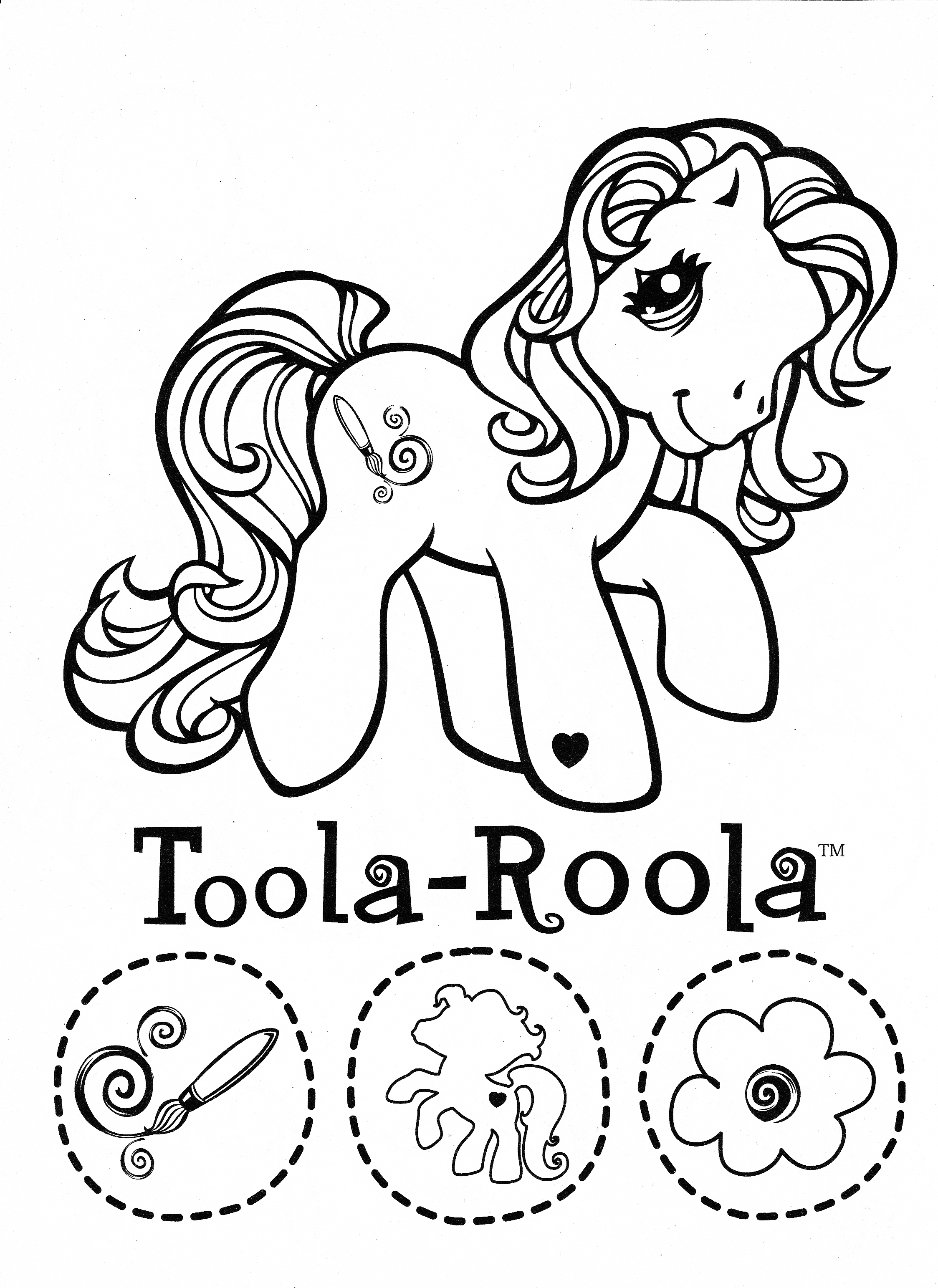 2247x3086 Inspiration My Little Pony Coloring Page Mlp Toola Roola