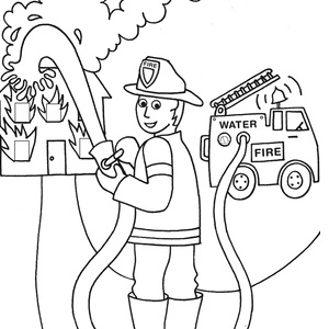 300x300 Number Coloring Pages
