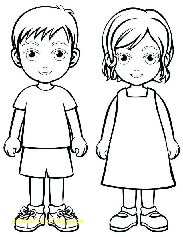 640x828 Person Coloring Page Letter People Coloring Pages Brilliant