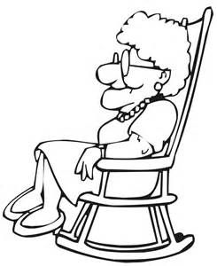 245x300 Old People Coloring Page
