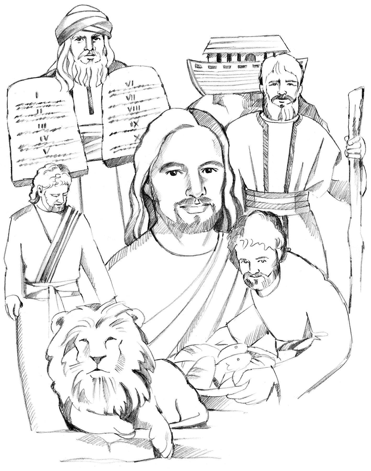 1418x1800 Luxury Free Old Testament Coloring Pages B