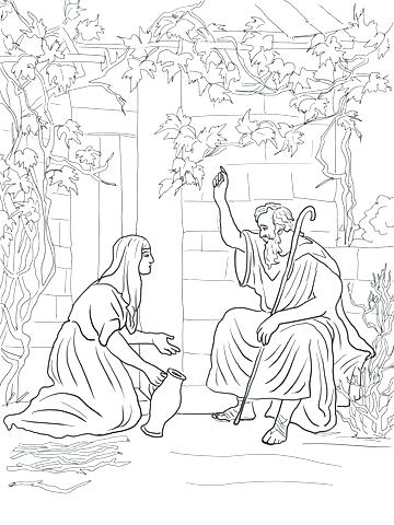 360x480 Old Testament Coloring Pages Coloring Pages Click To See Printable