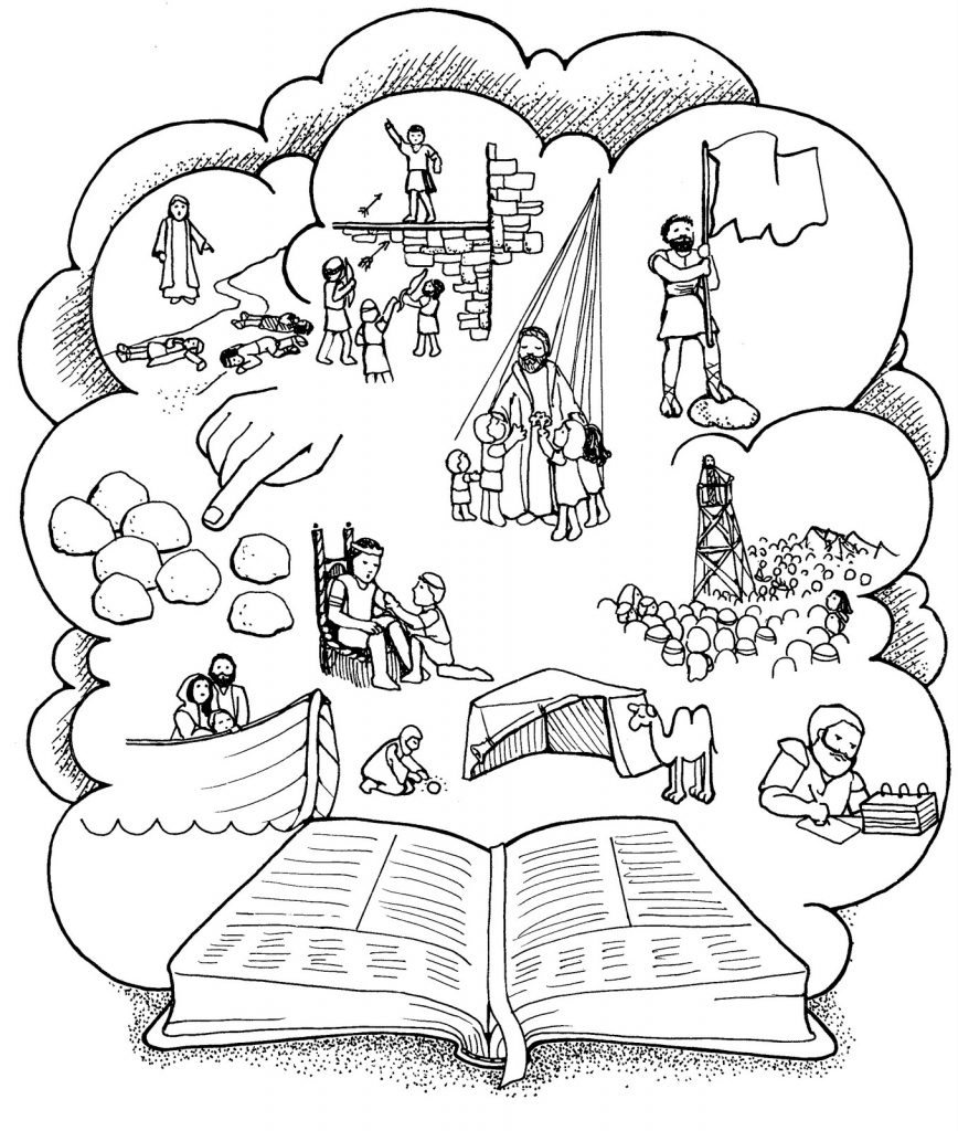 868x1024 Old Testament Coloring Pages To Print