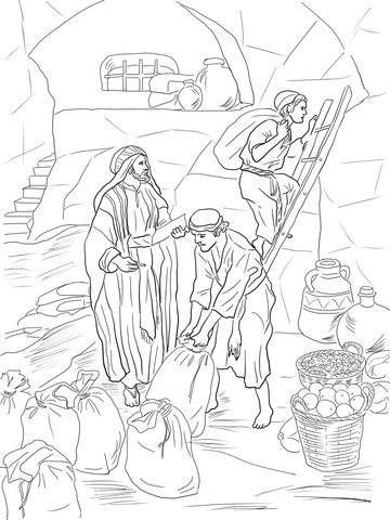 360x480 Best Bible Old Testament Colouring Book Images