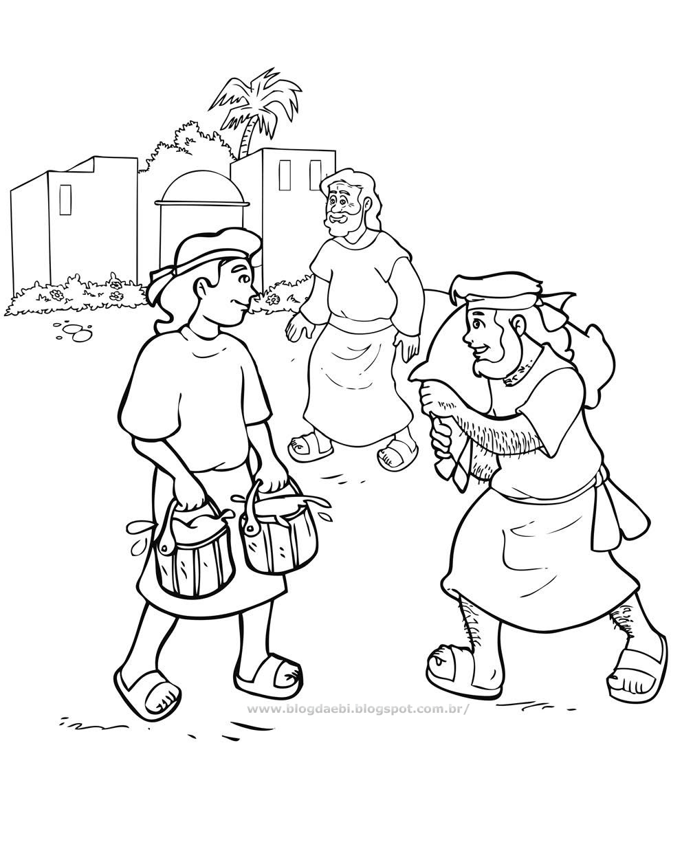 992x1225 To Download Jacob And Esau Coloring Page For Your Line Drawings