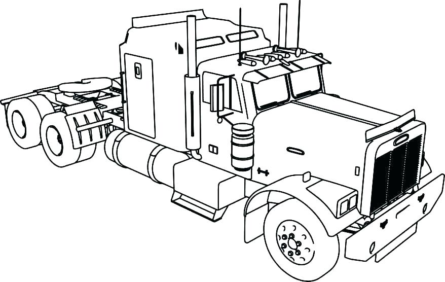 878x556 Truck Coloring Page Pickup Truck Coloring Pages Old Truck Coloring