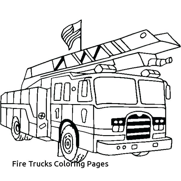 600x600 Coloring Pages Fire Truck Coloring Pages Fire Truck Fire Truck